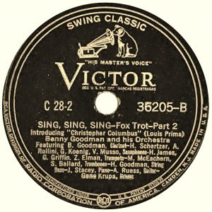 Sing Sing Sing 1937 Benny Goodman Swing Beyond