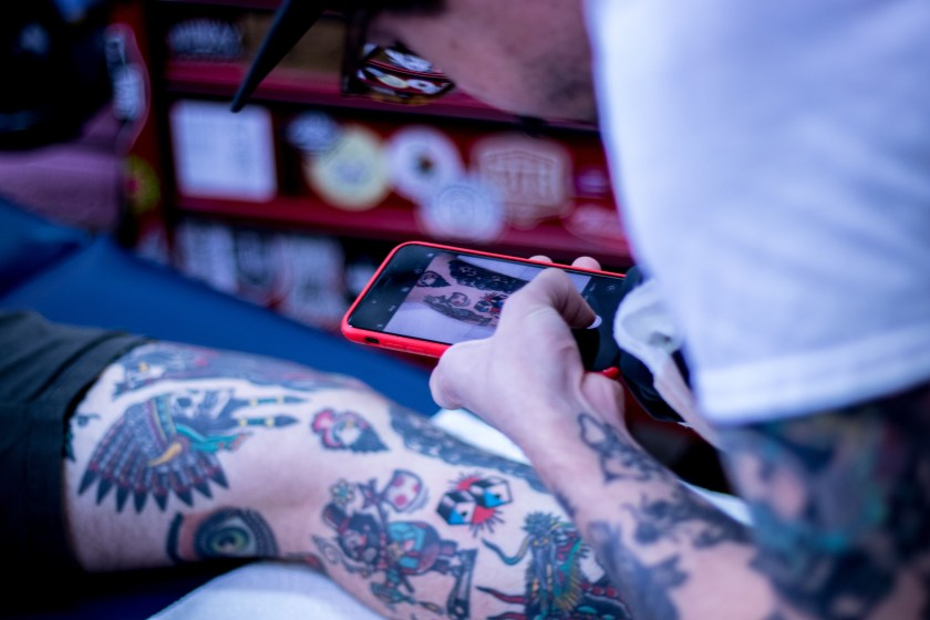 Phil Everhard arizona classic tattoo company