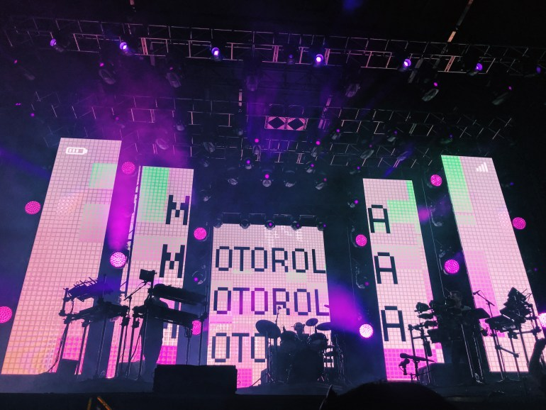 Gorgon City performing Motorola at McDowell Mountain Music Festival (M3Fest)