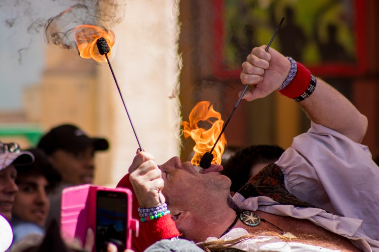 renny fire eater