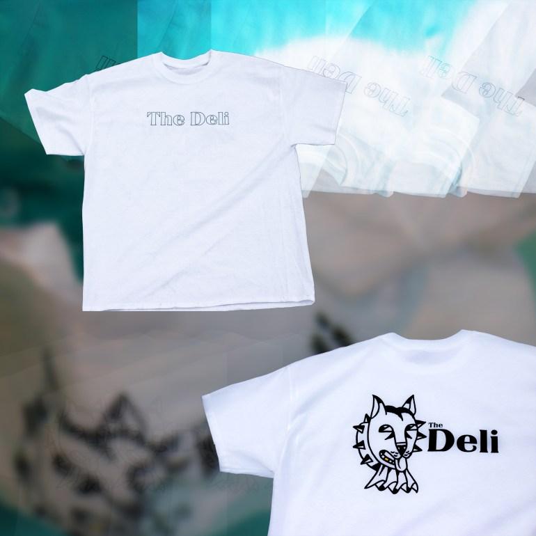 the deli dog t-shirt