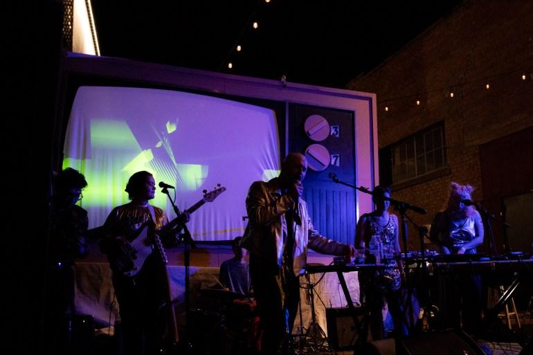 Like Diamonds on The Deli Stage at Full Moon Festival Phoenix