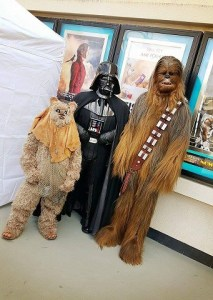 Darth and Chewbacca 1