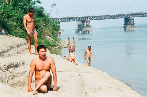 Beach for Nude Bath, Hanoi, Vietnam