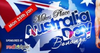Sexy Australia Day Events