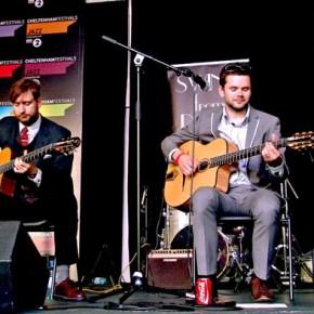 Cheltenham Jazz Festival stage