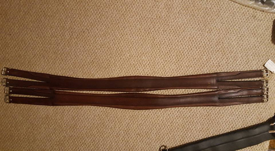 Buy leather padded girths online