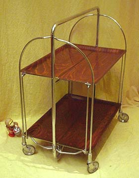 quality folding chairs ikea desk vintage industrial gerlinol tea trolley | another man's treasure in montreal