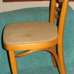 Bent Wood Chair Green Dining Table And Chairs 1950's Mundus Thonet Style Bentwood Cafe | Another Man's Treasure In Montreal