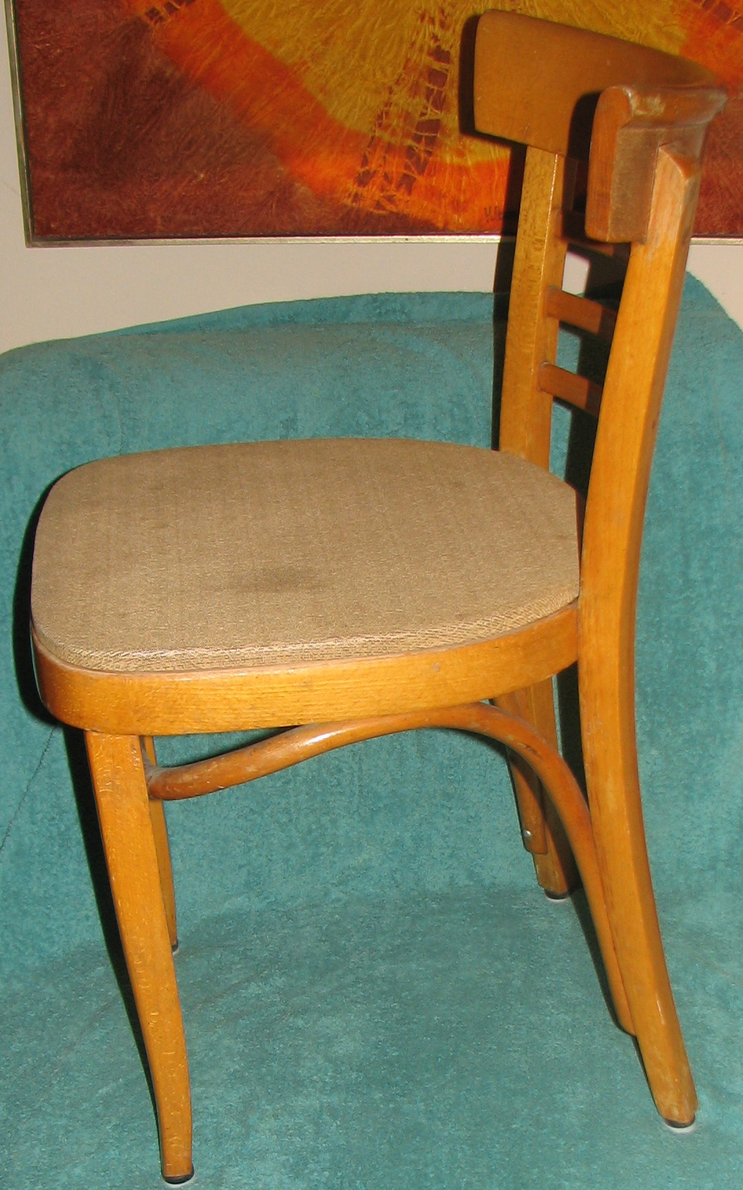 thonet chair styles office bar stool 1950s mundus style bentwood cafe another