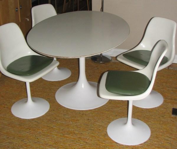 Eames Saarinen Style Mod Tulip Dining Set   Another Man's ...