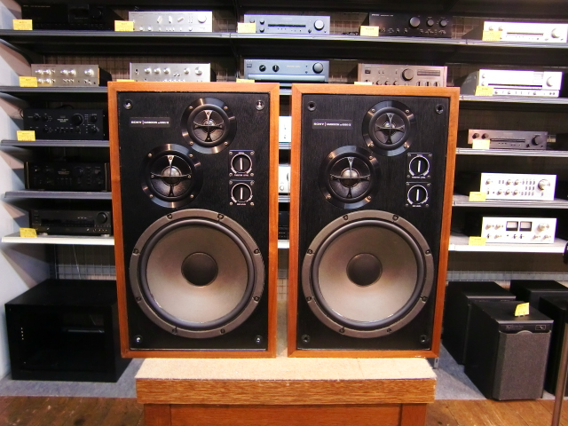 rare Carbocon SONY SS5050 vintage speakers  Another Man