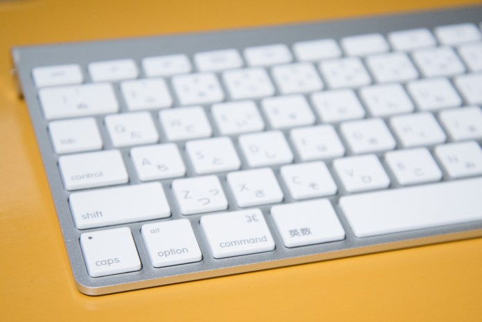 Apple Wireless Keyboard キーボード表面
