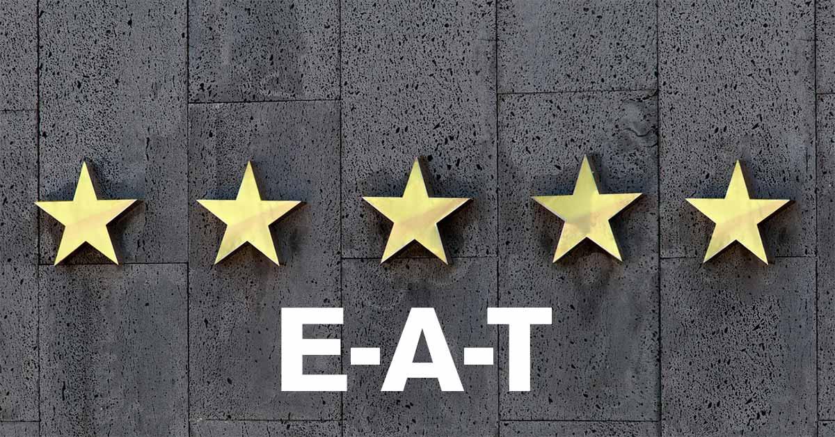 検索で上位表示 させるための E-A-T