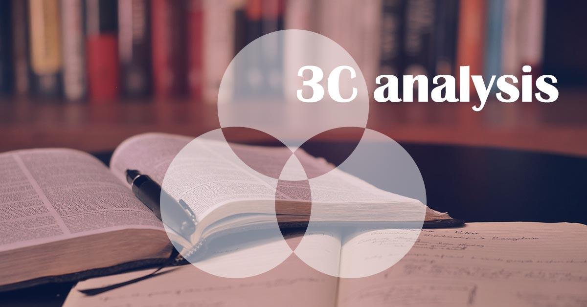 3C分析 |競合と差別化するための方法