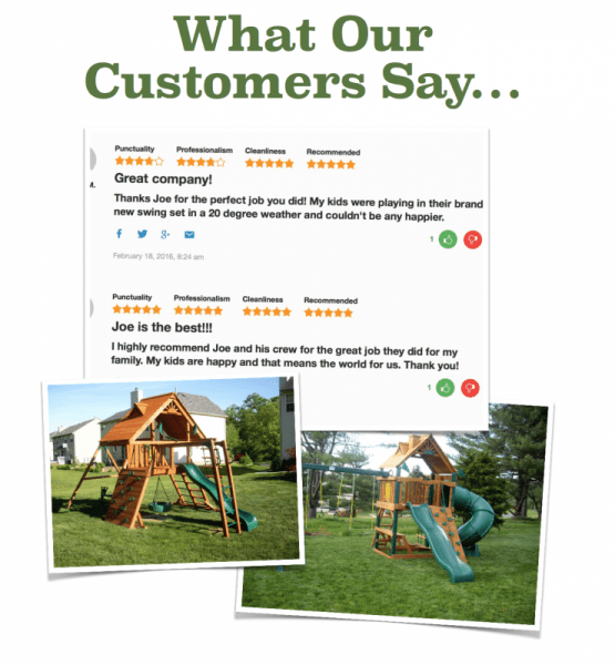 Swing-set-installer-nj-reviews