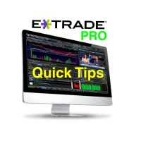 Etrade Pro quick tips
