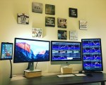 Multi monitor day trading set up