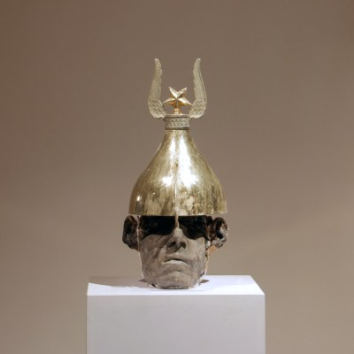 gold-helmet+wings+star-warrior-kriegerisch--41x23x15--180