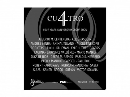 CU4TRO  |  EXPOSICIÓN COLECTIVA  |  22.06.2018 – 22.07.2018
