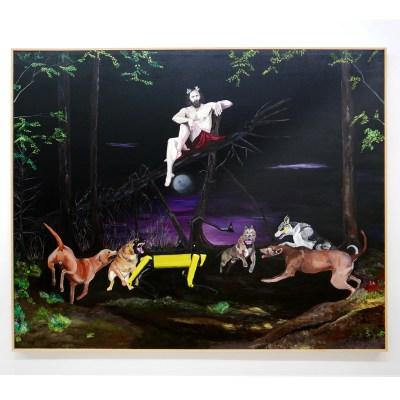 Andres-Senra_-Sin-Titulo-BK_ Acrylic on canvas 162 x 130 cm_2019_4500