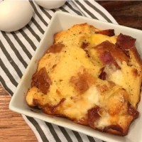 Bacon, Egg, & Cheese Strata