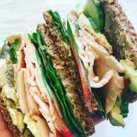 Turkey, Cucumber, & Avocado Sandwich