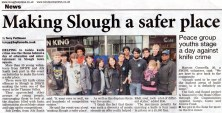 Making Slough a safer place.