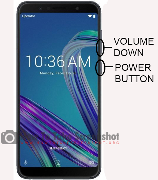 How to Take Screenshot on Asus Zenfone Max Pro (M1)