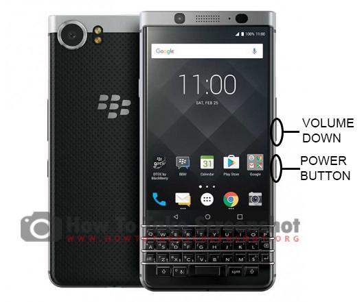 How to Take Screenshot on Blackberry Keyone
