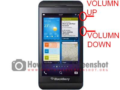 How to take Screenshot on BlackBerry Z10
