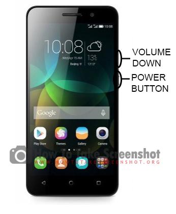 How to Take Screenshot on Huawei 4C