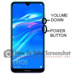 How to Take Screenshot on Huawei Y6 Prime 2019