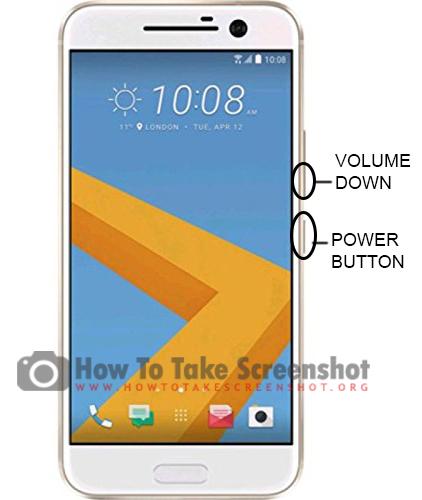 How to take Screenshot on HTC 10