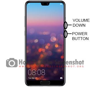 How to take Screenshot on Huawei P20