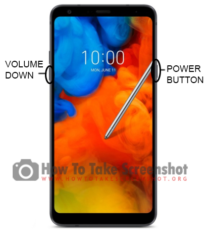 How to take Screenshot on LG Q Stylus