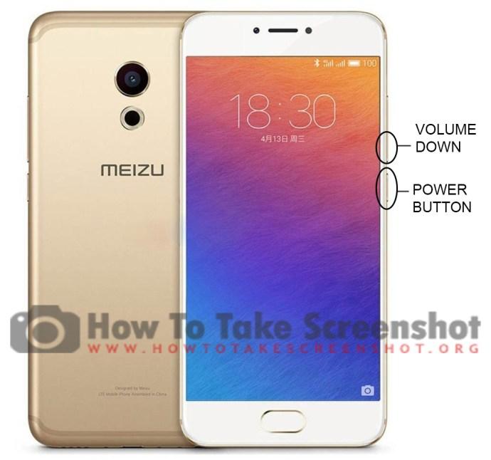 How to take Screenshot on Meizu Pro 6