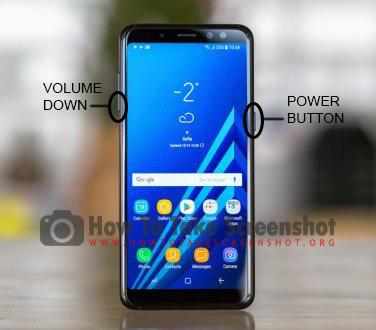 How to take Screenshot on Samsung Galaxy A6