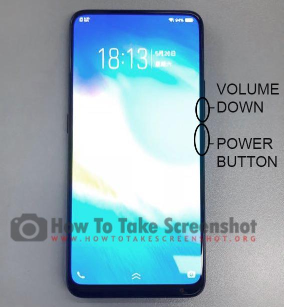How to Take Screenshot on Vivo NEX