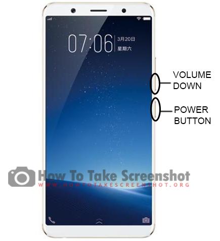 How to take Screenshot on Vivo X20 Plus