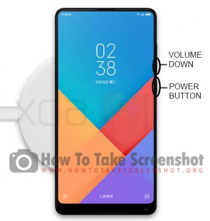 How to take Screenshot on Xiaomi Mi Mix 3