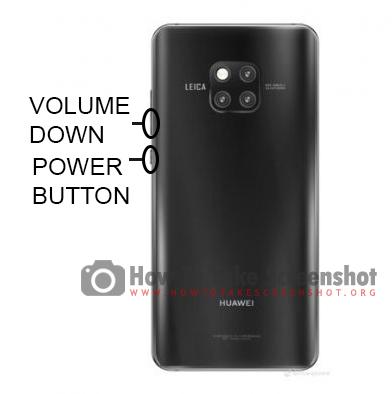 How to Take Screenshot on Huawei Mate 20 Pro