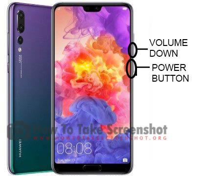 How to Take Screenshot on Huawei P30