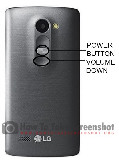 How to Take Screenshot on LG Leon LTE