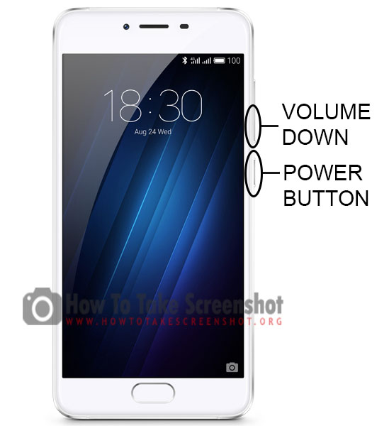 How to Take Screenshot on Meizu U10