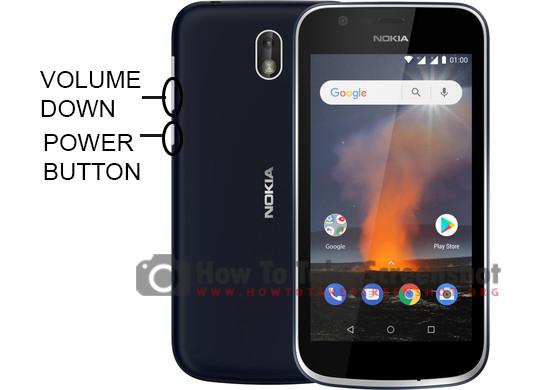 How to Take Screenshot on Nokia 1