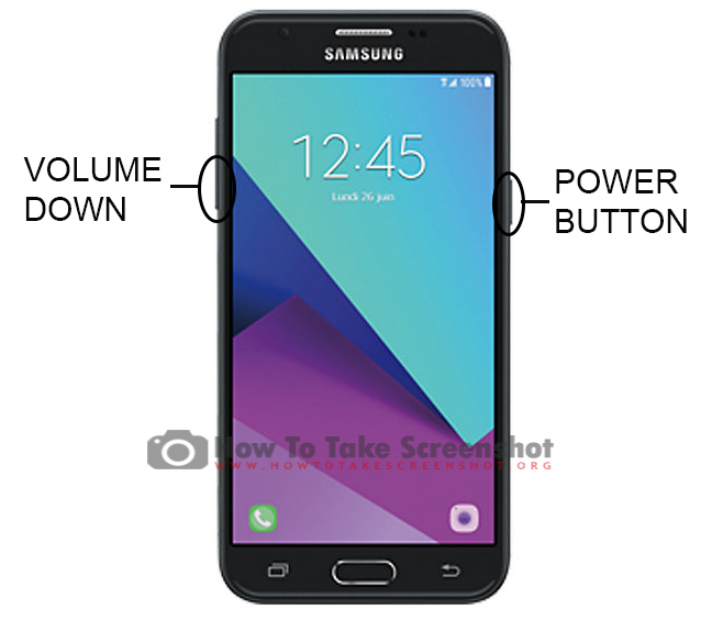 How to Take Screenshot on Samsung Galaxy J3 Prime