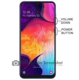How to Take Screenshot on Samsung Galaxy A50