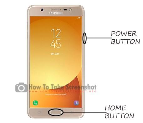 How to take a Screenshot on Samsung J7 Max