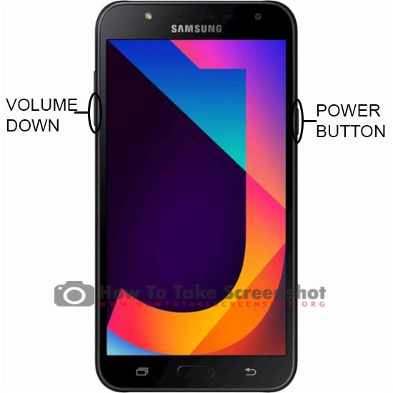 How to Take Screenshot on Samsung Galaxy J7 Neo